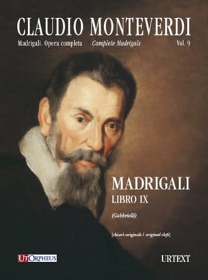 Madrigali Libro 9 MONTEVERDI Partition Chœur - laflutedepan