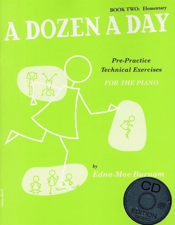 A Dozen A Day Volume 2 - avec CD en Anglais - laflutedepan.com