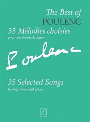 35 mélodies choisies - POULENC - Partition - laflutedepan.com