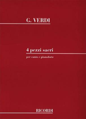 VERDI - 4 Pezzi Sacri - Partition - di-arezzo.com