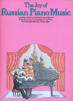 Joy Of Russian Piano Music - Partition - Piano - laflutedepan.com