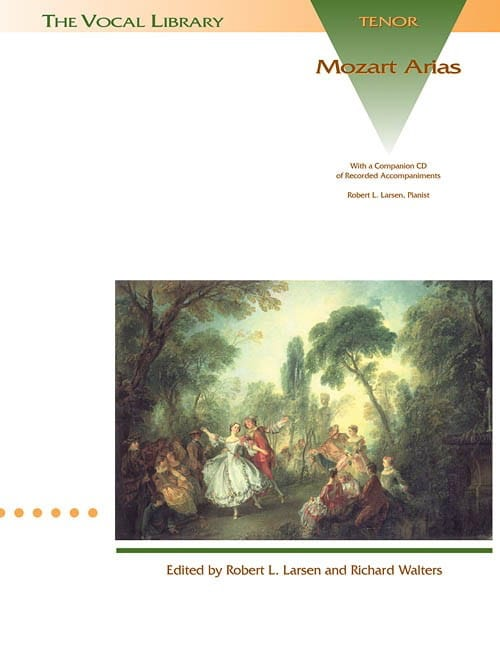 Mozart Arias. Ténor - MOZART - Partition - Opéras - laflutedepan.com
