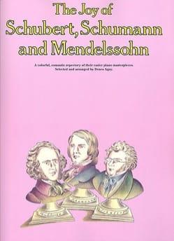 Joy Of Schubert, Schumann and Mendelssohn Partition laflutedepan