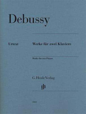DEBUSSY - Funciona para dos pianos - Partition - di-arezzo.es