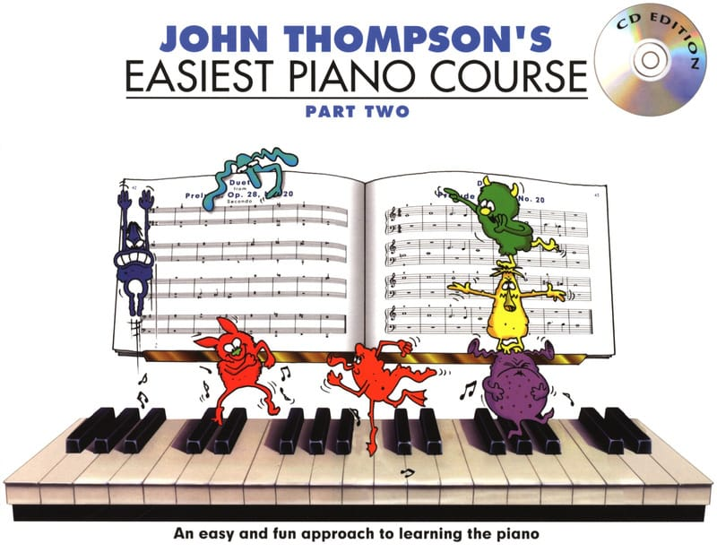 Easiest Piano Course Volume 2 - John Thompson - laflutedepan.com