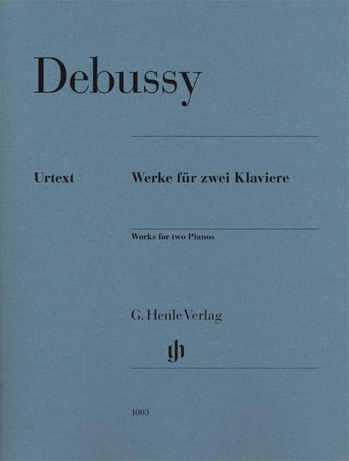 Oeuvres Pour Deux Pianos - DEBUSSY - Partition - laflutedepan.com