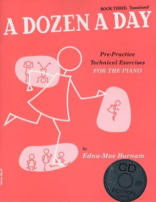 A Dozen A Day Volume 3 - en anglais avec CD Partition laflutedepan