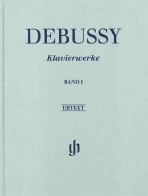 Oeuvre Pour Piano Volume 1 - Relié DEBUSSY Partition laflutedepan