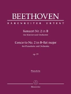Concerto Pour Piano n° 2 op. 19 En Si Bémol Majeur laflutedepan