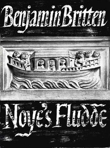 Noye's Fludde Opus 59 - BRITTEN - Partition - laflutedepan.com
