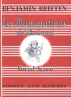 Les Illuminations de Rimbaud Opus 18 BRITTEN Partition laflutedepan