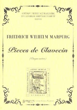 Pièces de Clavecin. 5 Suites Friedrich Wilhelm Marpurg laflutedepan