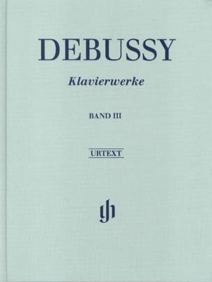 Oeuvre Pour Piano Volume 3 - Relié DEBUSSY Partition laflutedepan