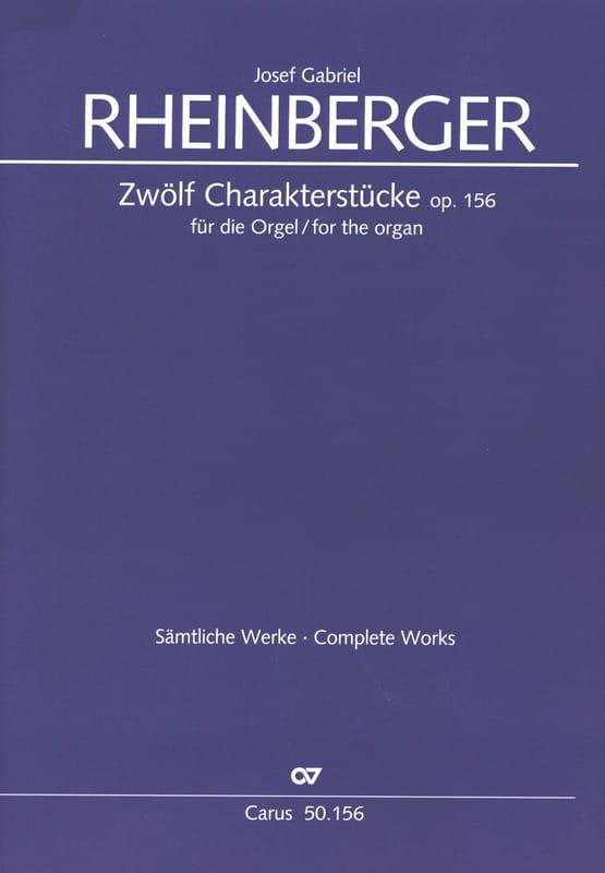 12 Charakterstücke Op. 156 - RHEINBERGER - laflutedepan.com