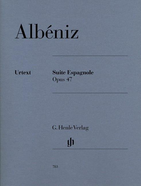 Suite Espagnole Opus 47 - ALBENIZ - Partition - laflutedepan.com