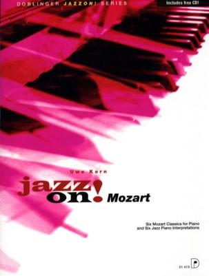 Jazz On Mozart Uwe Korn Partition Piano - laflutedepan