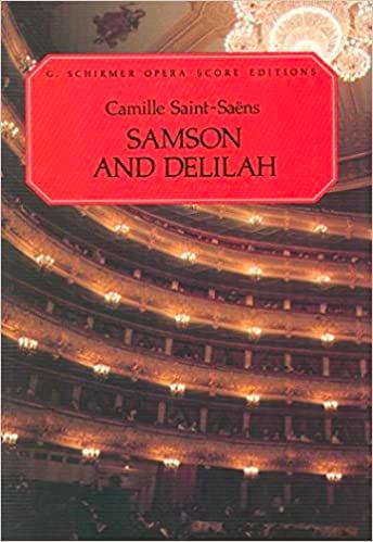 Samson et Dalila - SAINT-SAËNS - Partition - Opéras - laflutedepan.com