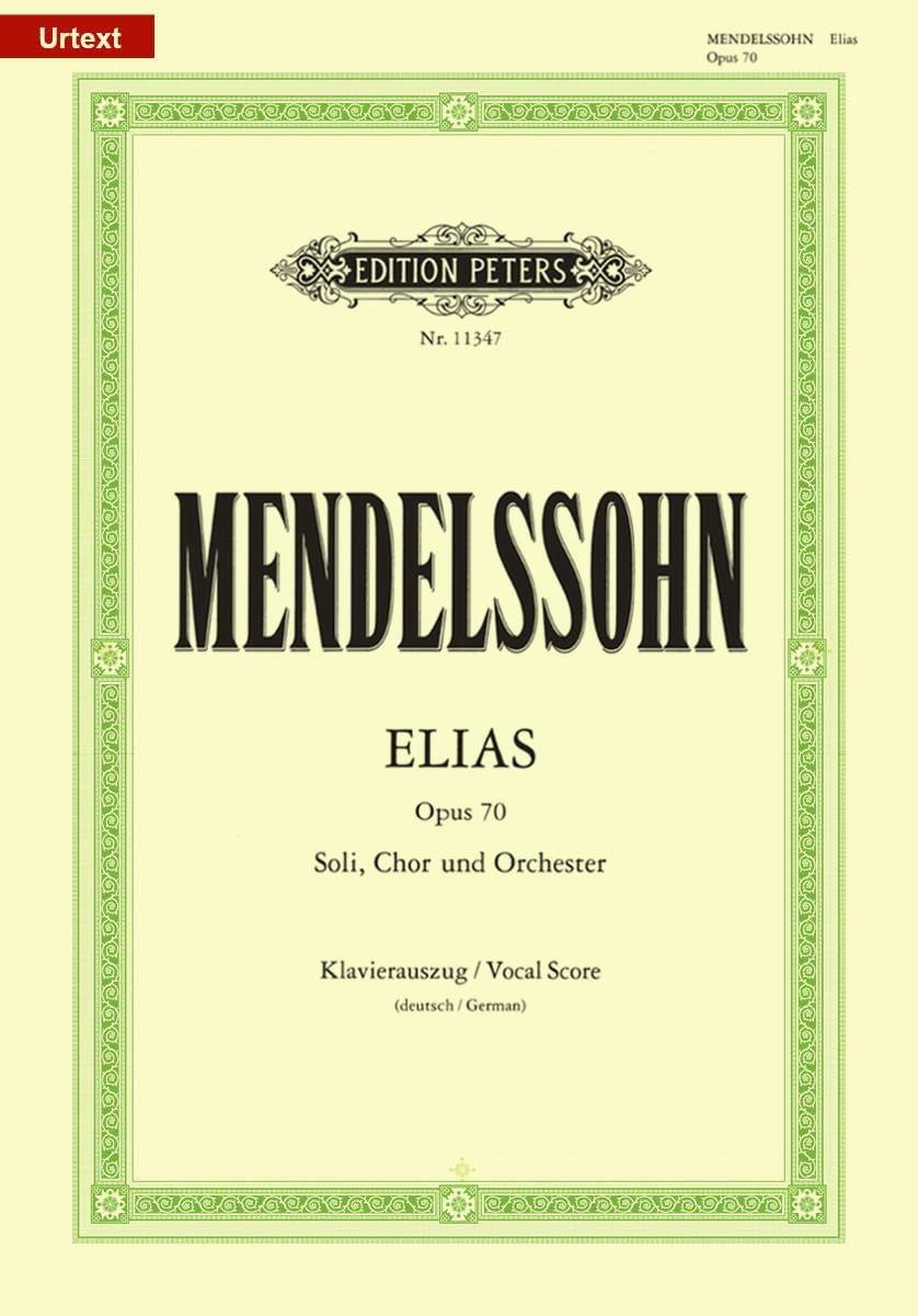 Elias - MENDELSSOHN - Partition - Chœur - laflutedepan.com