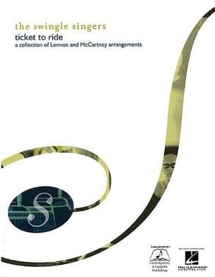 Ticket To Ride Lennon / Mac Cartney Partition Chœur - laflutedepan