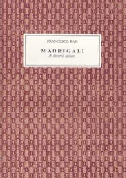 Madrigali Di Diversi Autori - Francesco Rasi - laflutedepan.com