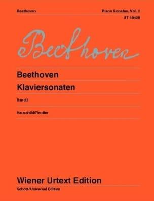 Sonates pour Piano - Volume 2 BEETHOVEN Partition Piano - laflutedepan