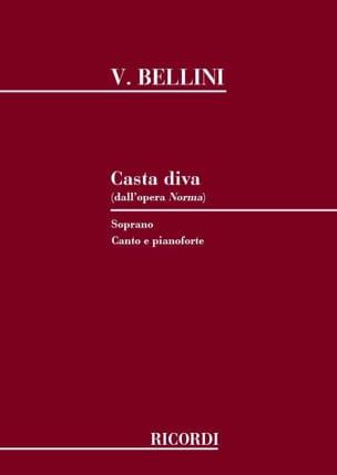Casta Diva. Norma BELLINI Partition Opéras - laflutedepan