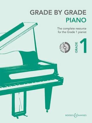Grade by grade piano. Volume 1 - Partition - laflutedepan.com