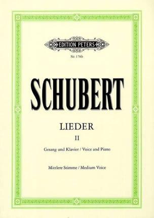 SCHUBERT - Lieder Volume 2 - Voz promedio - Partition - di-arezzo.es