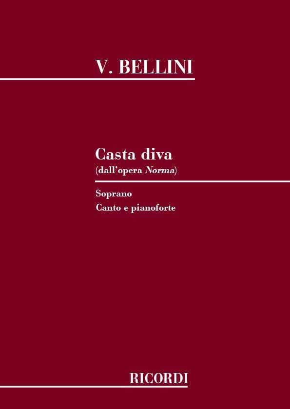 Casta Diva. Norma - BELLINI - Partition - Opéras - laflutedepan.com