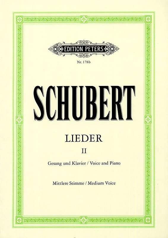 Lieder Volume 2 - Voix Moyenne - SCHUBERT - laflutedepan.com