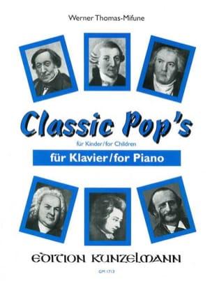 Classic Pop's Thomas-Mifune Partition Piano - laflutedepan