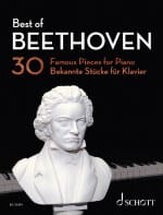 Best Of BEETHOVEN BEETHOVEN Partition Piano - laflutedepan