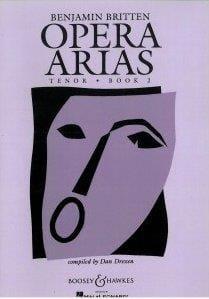 Opera Arias Ténor Volume 2 BRITTEN Partition Opéras - laflutedepan