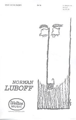 Wade in the Water - Norman Luboff - Partition - laflutedepan.com