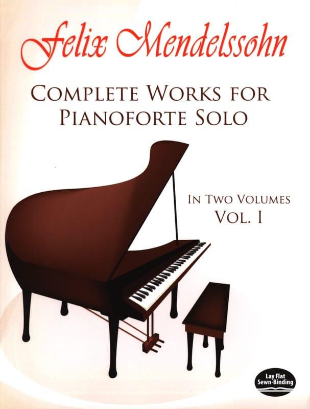Complete Works For Pianoforte Solo Volume 1 - laflutedepan.com