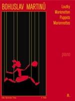 Loutky Volume 2 MARTINU Partition Piano - laflutedepan