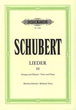 SCHUBERT - Lieder Volume 3 - Voz media - Partition - di-arezzo.es