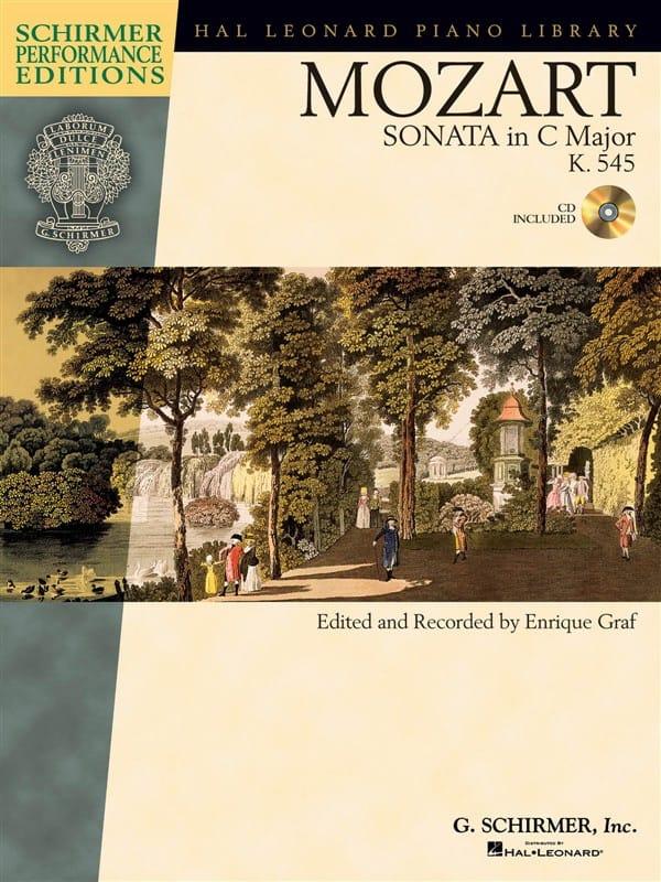 Sonate En Do Majeur K 545 - MOZART - Partition - laflutedepan.com