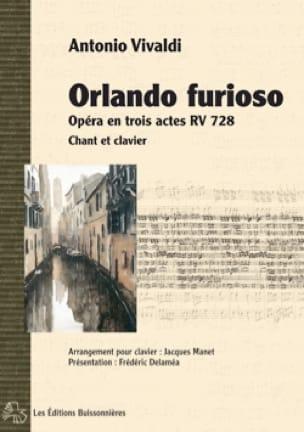 Orlando Furioso RV 728 - VIVALDI - Partition - laflutedepan.com