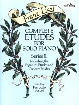 Complete Etudes For Solo Piano Volume 2 LISZT Partition laflutedepan