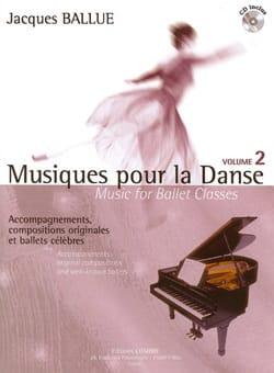 Musiques Pour la Danse Volume 2 Jacques Ballue Partition laflutedepan
