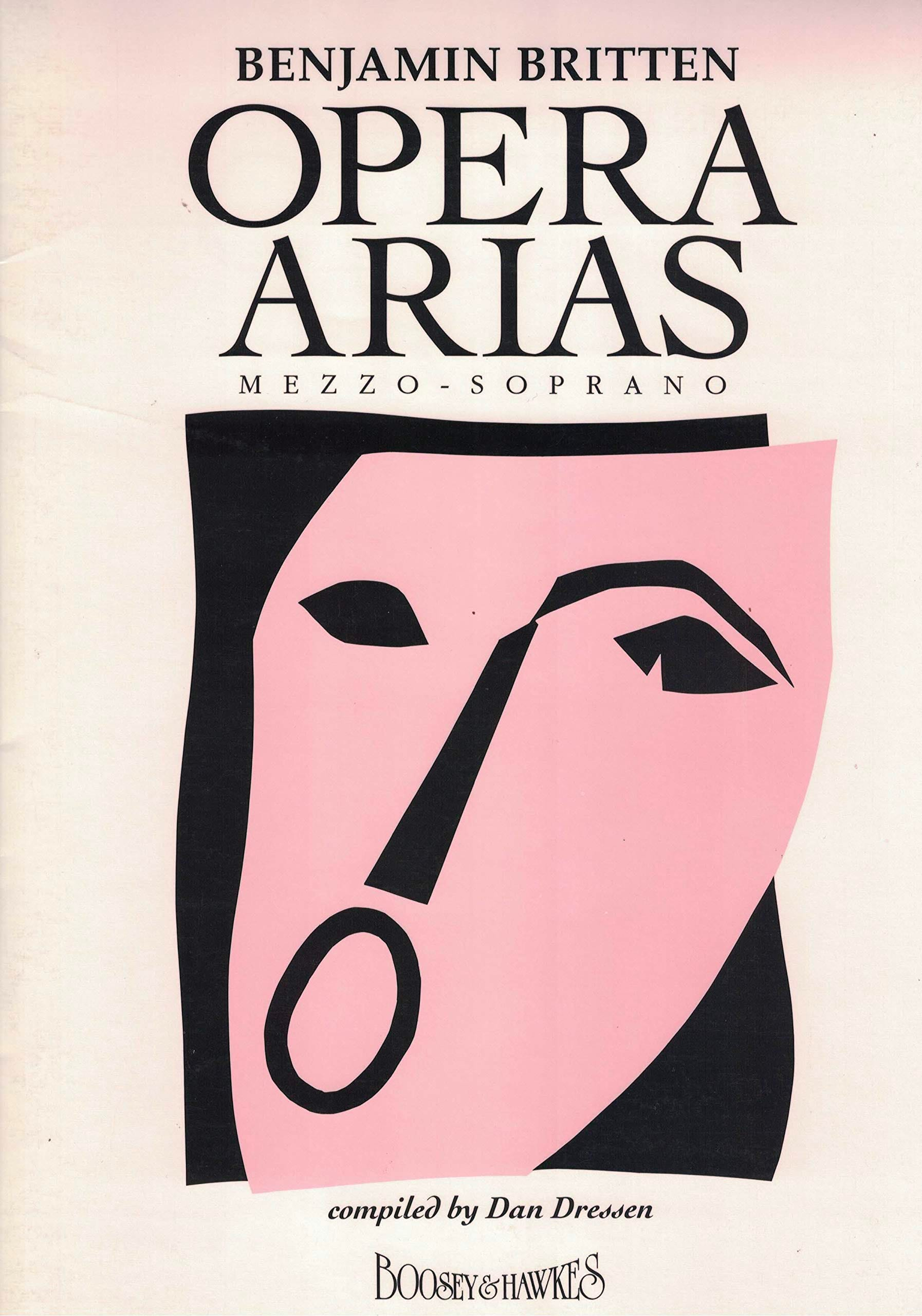 Opera Arias Mezzo Soprano - BRITTEN - Partition - laflutedepan.com