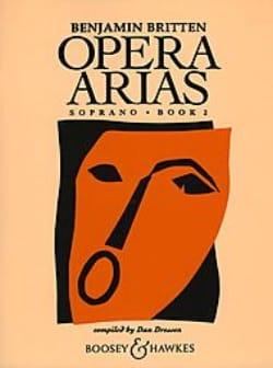 Opera Arias Soprano Volume 2 BRITTEN Partition Opéras - laflutedepan