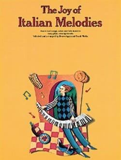 Joy Of Italian Melodies Partition Piano - laflutedepan