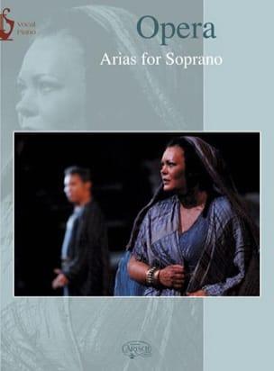 Opera Arias. Soprano Partition Opéras - laflutedepan