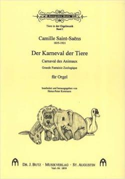Le Carnaval des Animaux. Orgue SAINT-SAËNS Partition laflutedepan