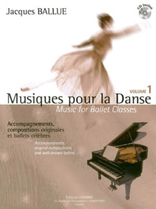 Musiques Pour la Danse Volume 1 - Jacques Ballue - laflutedepan.com