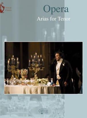 Opera Arias. Tenor Partition Opéras - laflutedepan