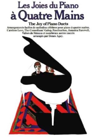 Les Joies Du Piano 4 Mains - Partition - Piano - laflutedepan.com