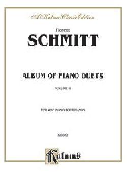 Album Opus 26 Volume 1. 4 Mains Florent Schmitt Partition laflutedepan